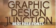 Best Graphic Design Fonts 15 Best Free Fonts Fonts Graphic Design Junction