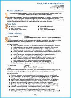 Admin Cv Examples Uk 10 Cv Samples With Notes And Cv Template Uk Land