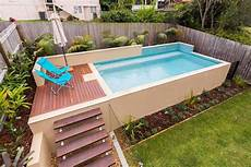Above Ground Swimming Pool Designs Backyard Small Above Ground Swimming Pool Swimming Pools