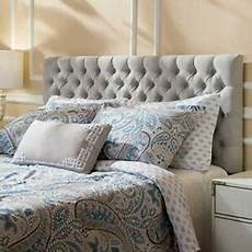 stylish crushed velvet alton headboard with fabric buttons