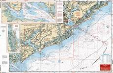 Charleston Sc Nautical Charts Big Framed Sounding Chart Quot Nautical Map Quot Of Charleston