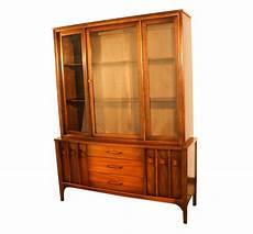 kent coffey perspecta mid century modern hutch china cabinet