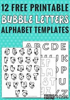 Alphabet Letters Printable 12 Free Printable Bubble Letters Alphabet Templates