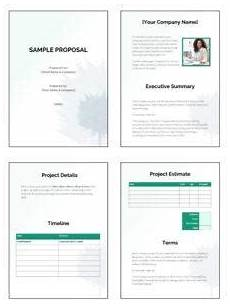 Free Sample Proposal Template Free Business Proposal Templates That Win Deals