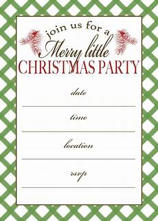 Printable Christmas Party Invitations Free Templates Free Printable Christmas Party Invitation Moritz Fine