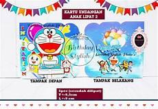 kartu undangan ulang tahun doraemon kata kata mutiara