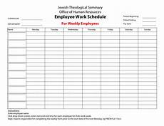 Schudule Maker Free Weekly Schedule Templates For Word 18 Templates