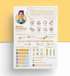 Personal Infographic Template Infographic Resume Templates 13 Examples To Download
