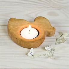 Fox Tea Light Holder Wooden Duck Egg Cup Tea Light Holder By Natural Gift Store