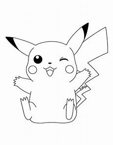 Ausmalbilder Pikachu Kostenlos Coloring Pages