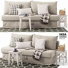 Sleeper Sofa 3d Image by Sleeper Sofa Himmene Ikea 3d Cgtrader