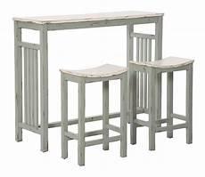 sgabelli in legno set bar vintage con tavolino alto e sgabelli in legno
