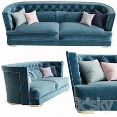 Blue Sofa Set 3d Image 3d models sofa gori vittoria frigerio sofa vittoria