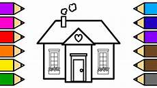 house colouring colouring house in the hills coloring pages for children