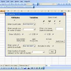 Statistical Process Control Charts Excel Add In Pdf An Excel Add In For Statistical Process Control Charts
