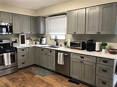 Kitchen Light Grey Cabinets Buy Nova Light Gray Rta Ready To Assemble Kitchen