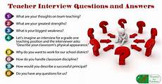 Teacher Interview Questions With Answers 8 Teacher Interview Questions And Answers