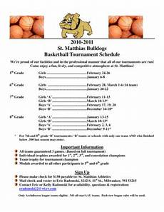 Basketball Schedule Maker Basketball Schedule Maker Edit Amp Fill Out Online