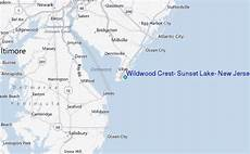 Tide Chart Nj Wildwood Wildwood Crest Sunset Lake New Jersey Tide Station
