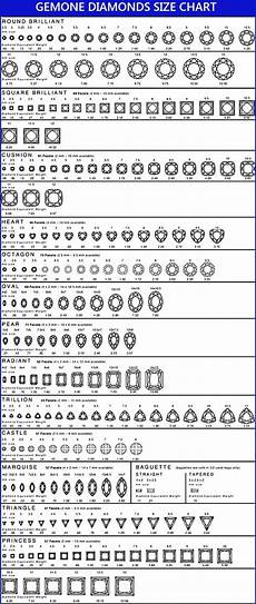 Pear Shaped Diamond Mm Size Chart 29 Printable Diamond Size Charts Amp Diamond Color Charts