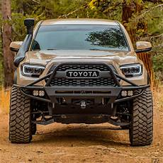 3rd Gen Tacoma Led Lights C4 Fabrication Hybrid Front Bumper 3rd Gen Tacoma 2016