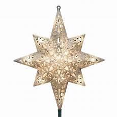 Large Light Up Star Tree Topper Christmas Tree Topper Star Light Silver Glittered