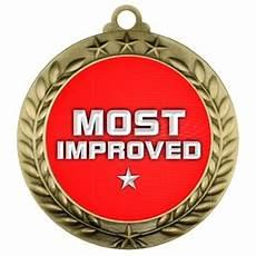 Most Improved Award Most Improved Medals Custom Engraved Awards Just Award