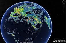 Light Pollution Map Iceland New Maps Depict The World S Light Pollution Problem Wsj