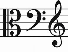 Clef Music 4 Common Clefs Often Used In Music