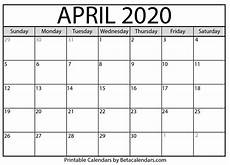 print calendar april 2020 printable april 2020 calendar beta calendars