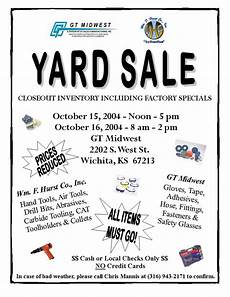 Garage Sale Flyers Examples Church Yard Sale Flyer Gt Midwest Garage Sale Sale