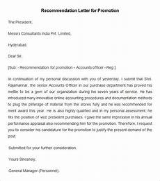 Letter Of Recommendation For Promotion 26 Free Employee Recommendation Letters Pdf Doc Free