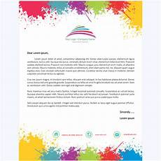Word Stationery Templates Letterhead Template 12 Word Layouts