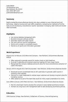 Bussiness Resume Business Resume Templates To Impress Any Employer Livecareer