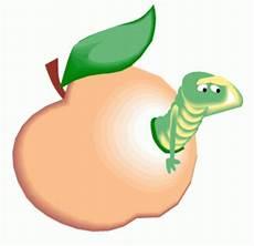 Malvorlagen Apfel Mit Wurm Apfel Mit Einem Wurm Ausmalbild Malvorlage Tiere