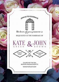 Free Printable Invitation Maker 3 Beautiful Free Wedding Invitation Templates That You Can