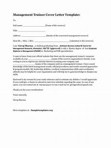 Management Trainee Cover Letter Samples Management Trainee Cover Letter