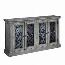 mirimyn antique chipped gray accent cabinet by signature