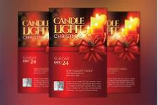 Christmas Lights Flyer Template Christmas Candle Light Flyer Poster Template By Godserv