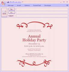 Invitations By Email Download Free Printable Invitations Of E Mail Message