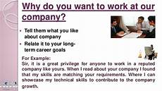 Why Do You Want To Work In Healthcare Interview Questions And Answers