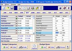 Personal Home Budget Software Free Download Personal Budget