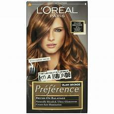 Glam Hair Color Light Brown L Oreal Preference Glam Bronde No 4 Ebay