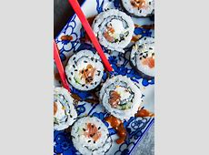 Philadelphia Roll Recipe and a Sushi Shortcut   Peas and