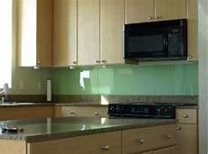 back painted glass kitchen backsplash 4 diy solid glass kitchen backsplashes to install yourself