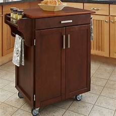 cherry kitchen island cart cherry finish oak top cuisine cart contemporary