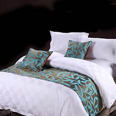 yazi bed runner scarf cotton hotel bedding end decor