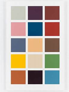 Kaleidoscope Trinidad Paint Chart Gerhard Richter Colour Charts At Dominique L 233 Vy London