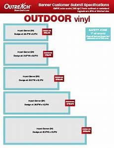 Banner Size Chart Custom Artguide Outdoor Banners Outreach Com