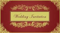 Invitation Front Page Design How To Design Wedding Invitation Card Front Page In
